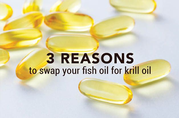 3 reasons to swap your fish oil for krill oil