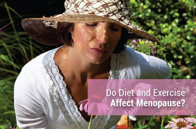 Do Diet and Exercise Affect Menopause?