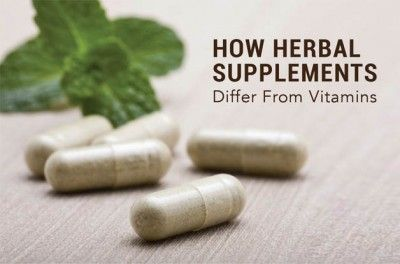 How Herbal Supplements Differ From Vitamins