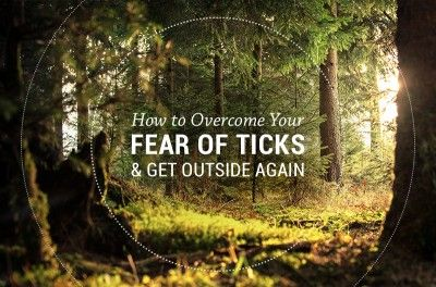 How to overcome your fear of ticks and get outside again