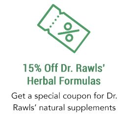 15% Off Coupon for Dr. Rawls' Herbal Supplements