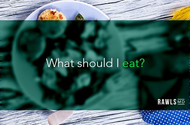 What should I eat? fish and vegetable dish background