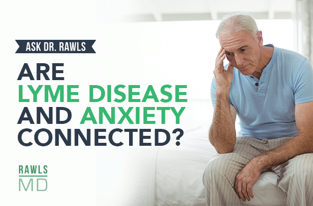 are lyme disease and anxiety connected