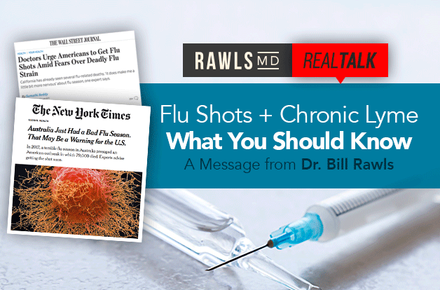 [Real Talk] Flu Shots + Chronic Lyme: What You Should Know