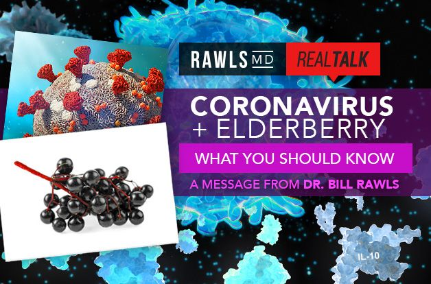 Coronavirus + Elderberry: What You Should Know | RawlsMD